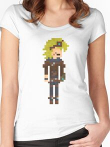 Ezreal, the Pixel Explorer Women's Fitted Scoop T-Shirt