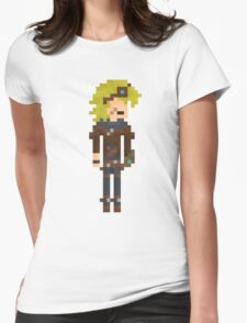 Ezreal, the Pixel Explorer Womens Fitted T-Shirt