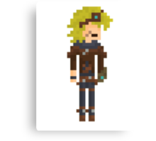 Ezreal, the Pixel Explorer Canvas Print