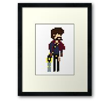 Graves, The Pixel Outlaw Framed Print