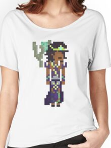 Karma, The Pixel Support Women's Relaxed Fit T-Shirt