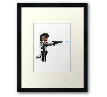 Lucian, The Pixel Purifier Framed Print