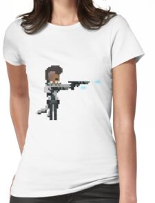 Lucian, The Pixel Purifier Womens Fitted T-Shirt