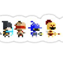 The Pixel League Sticker