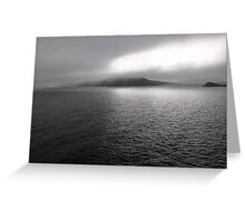 Dusk on the Atlantic Ocean, Slea Head, Ireland Greeting Card
