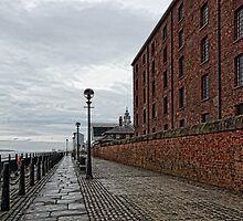 Albert Dock by Beverley Goodwin
