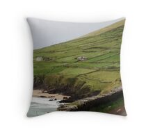 Coumeenole Beach, Dingle Peninsula, Ireland Throw Pillow