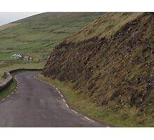 Stone walls dividing fields, Kerry, Ireland Photographic Print