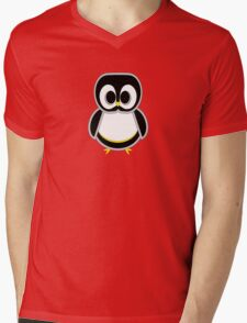 Paco the Penguin Mens V-Neck T-Shirt