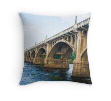 Bridge to Anywhere Throw Pillow