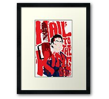 Army Of Darkness/Bruce Campbell Framed Print