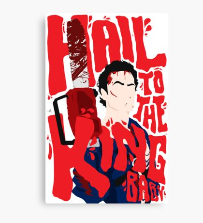 Army Of Darkness/Bruce Campbell Canvas Print