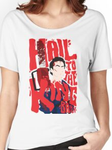 Army Of Darkness/Bruce Campbell Women's Relaxed Fit T-Shirt