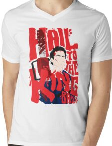 Army Of Darkness/Bruce Campbell Mens V-Neck T-Shirt