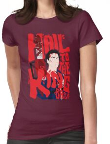 Army Of Darkness/Bruce Campbell Womens Fitted T-Shirt