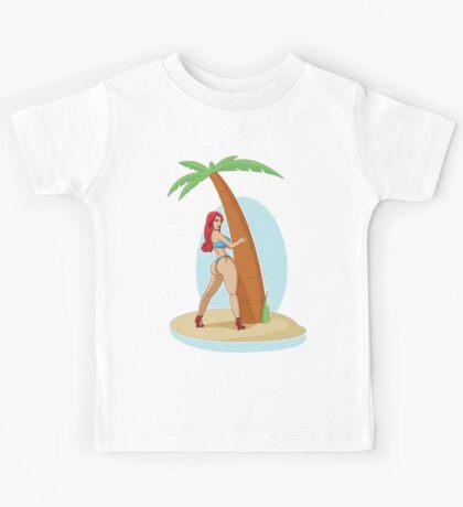 Pin Up - Small Island Kids Tee