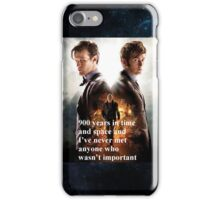 Doctor Who- Day of the Doctor iPhone Case/Skin