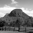 Mt Greville, Clumber, Qld Australia by Mark Batten-O'Donohoe