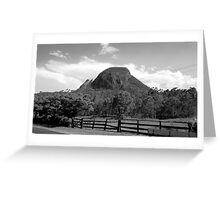 Mt Greville, Clumber, Qld Australia Greeting Card