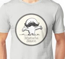 Mustache Season. Unisex T-Shirt
