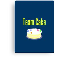 Team Cake Canvas Print