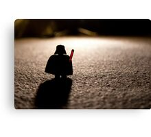 Darth as it seems. Canvas Print