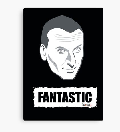 DOCTOR WHO FANTASTIC Canvas Print