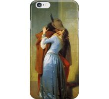 The Kiss (Hayez) iPhone Case/Skin