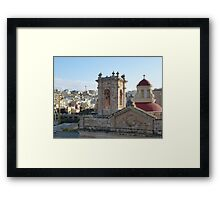 Mellieha Parish Church - Malta Framed Print