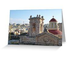 Mellieha Parish Church - Malta Greeting Card