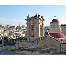 Mellieha Parish Church - Malta Photographic Print