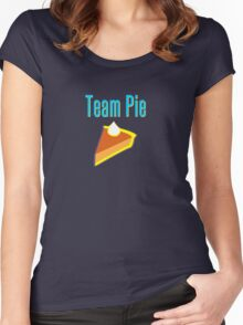 Team Pie Women's Fitted Scoop T-Shirt