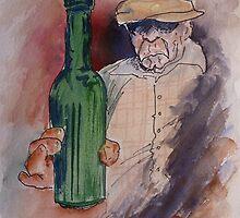 Cherrs. In Honor of Charles Bukowski by jadlart