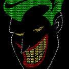 Joker - HAHAHA Poster (Black) by Dsavage94