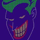 Joker - HAHAHA Poster (Purple) by Dsavage94