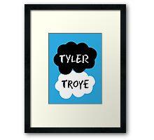 TYLER & TROYE (Tyler Oakley & Troye) - TFIOS Design Framed Print