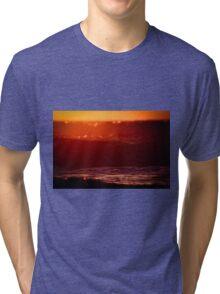 """Waves of Winter"" Tri-blend T-Shirt"