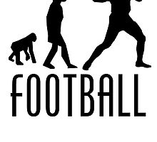 Football Quarterback Evolution by kwg2200