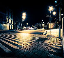 Cork City at Night. by EpiGraphy