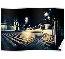 Cork City at Night. Poster