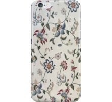 Middle age flower iPhone Case/Skin