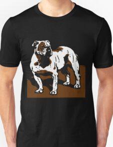 Victorian Woodcut English Bulldog T-Shirt