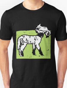 Victorian Woodcut Lambs Sheep T-Shirt