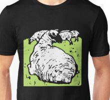 Victorian Woodcut Sheep Unisex T-Shirt