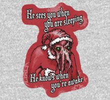 Cthulhu Claus Is Coming to Town Kids Tee