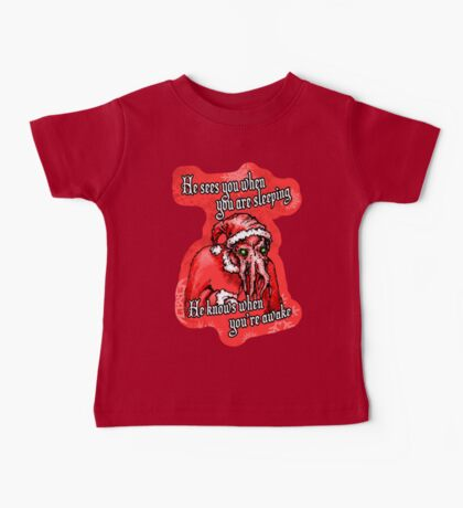 Cthulhu Claus Is Coming to Town Baby Tee