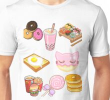 Pixeled foods Unisex T-Shirt