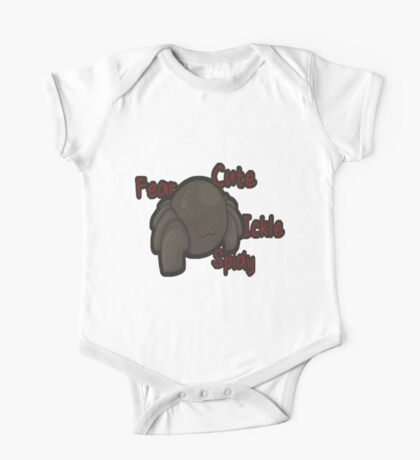 Fear Cute Ickle Spider One Piece - Short Sleeve