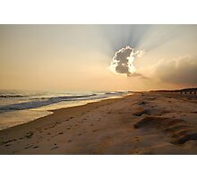 Sunset in the Sand  Photographic Print
