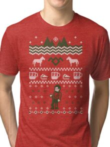 Sweater From Another Place Tri-blend T-Shirt